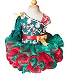 Jenniferwu Infant toddler baby newborn little Girl's Pageant party birthday Dress G008-5 SIZE 3-6 MONTHS