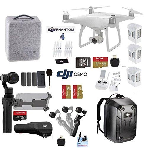 DJI-Professional-Photographer-Videographer-Includes-DJI-Phantom-4-DJI-OSMO-4K-Starter-Kit