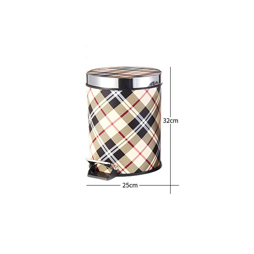 Frelt trash can Foot-type Home With A Large European-style Trash Bin Bedroom Kitchen Toilets Trash