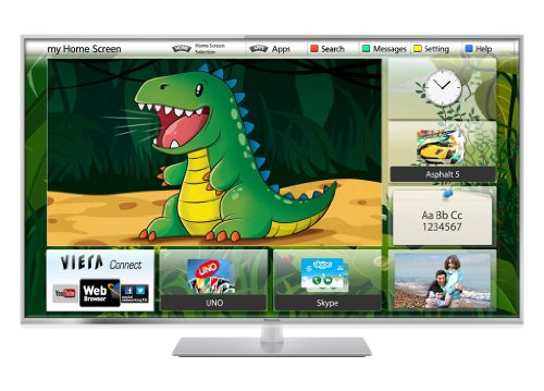 Panasonic Viera TX-L55ET60B 55 inch Widescreen Full HD 1080P 3D LED, Smart Viera, Wi-Fi Built in with Freeview HD (New for 2013)