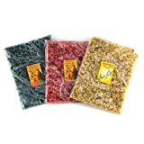 3 in 1 Set of Holy Land Incense Bags Jasmine, Myrrh, Rose Scent 100% Natural a Genuine Jerusalem Fragrance