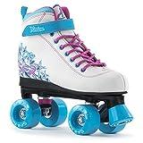 SFR Vision II Skates, Unisex Children, RS239, White (white/blue), 34 EU