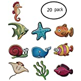Non-slip Bathtub Stickers kids-20 Piece Creative Safety Bathroom Decoraction Stcikers, Bathroom Accessories