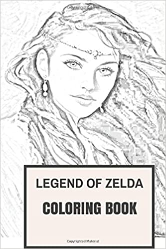 Amazon.com: Tale of Zelda Coloring Book: Legend of Traditional ...