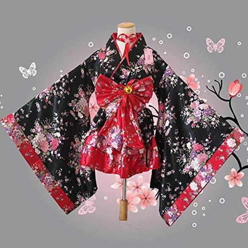 Gotisch Kleid Dienstmädchen Mädchen Kostüm Einteiliges Halloween Kleider Clothing Bekleidung Karneval Show Red Maskerade Damen GYH Damen PxEqw40Rq