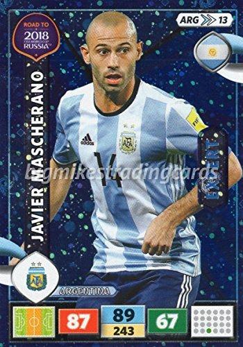 ROAD TO WORLD CUP 2018 JAVIER MASCHERANO (ARGENTINA) EXPERT CARD, PANINI ADRENALYN XL