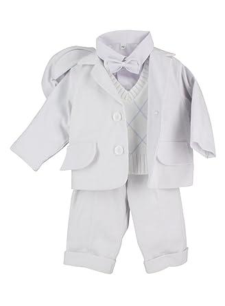 48b2e41754b26 Boutique-Magique Tenue de baptême Hiver pour bébé garçon  Amazon.fr ...