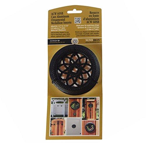 Nuvo Iron Round Single Board ACW 60SB - Ornamental Medallion Insert Fence, Gates, Doors Ornamental Metal Fencing