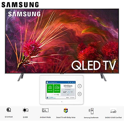 - Samsung Q8FN Smart 4K Ultra HD QLED TV (2018) Bundle (65-Inch + Home Security Kit)