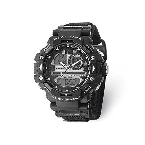2c7f492225b6 Jewels By Lux US Marines Wrist Armor C41 Green Black Ana-Digital Watch
