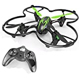 HUBSAN X4 H107C 4 Channel 2.4GHz 6 Axis Gyro RC Quadcopter with 480P Camera and Protection Cover Mode 2 RTF (480P Green…