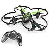 quad copter with cover - HUBSAN X4 H107C 4 Channel 2.4GHz 6 Axis Gyro RC Quadcopter with 480P Camera and Protection Cover Mode 2 RTF (480P green black)