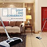Highfs Hand Push Type Charging Floor and Carpet Cleaning Machine Automatic Dust Collector Sweep&Vacuumed&Mop 3in1...