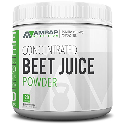 AMRAP Nutrition All Natural Increased Electrolytes