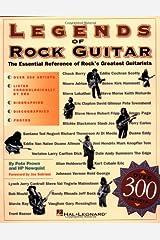 Legends of Rock Guitar Paperback