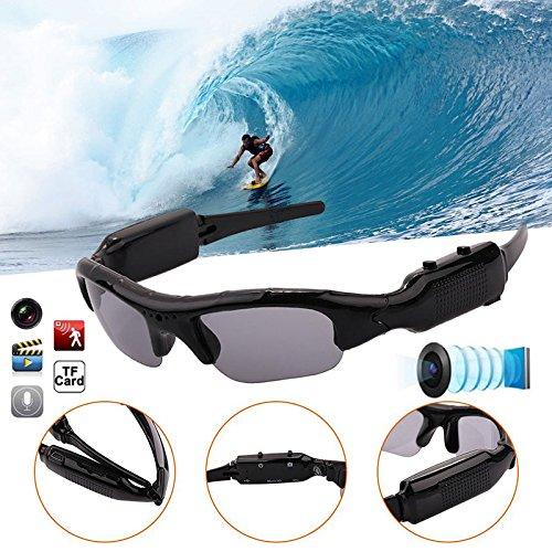 Haihuic Sport Sunglasses DVR Eyewear, Digital Camera Sunglasses Eyewear DVR Video Recorder Camcorder For Sport - Polarized What Better Sunglasses Makes