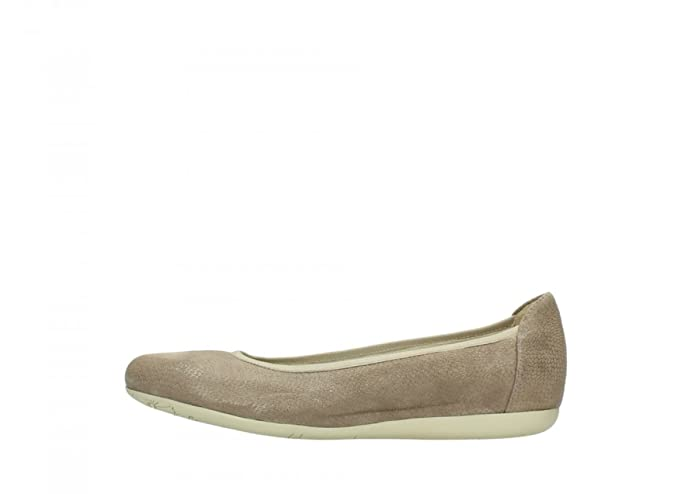 Wolky Wolky110-110 Tampa Femme, Gris (20150 Taupe Leather), 41.5 EU