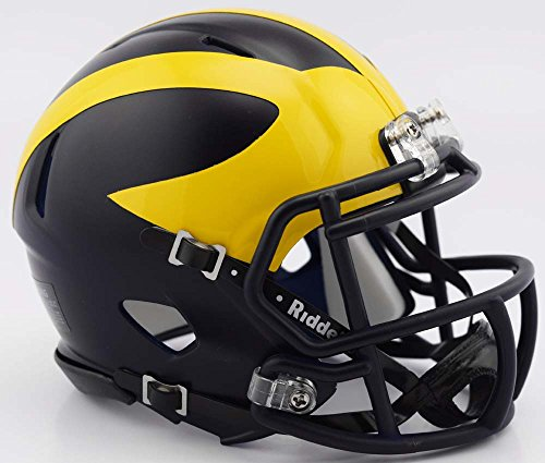 Michigan Wolverines Riddell Revolution Football