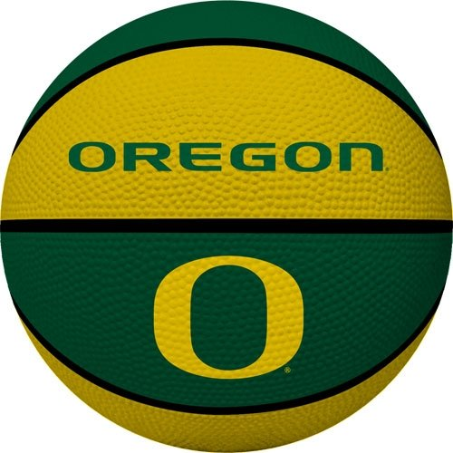 NCAA Oregon Ducks Crossover Full Size Basketball by Rawlings ()