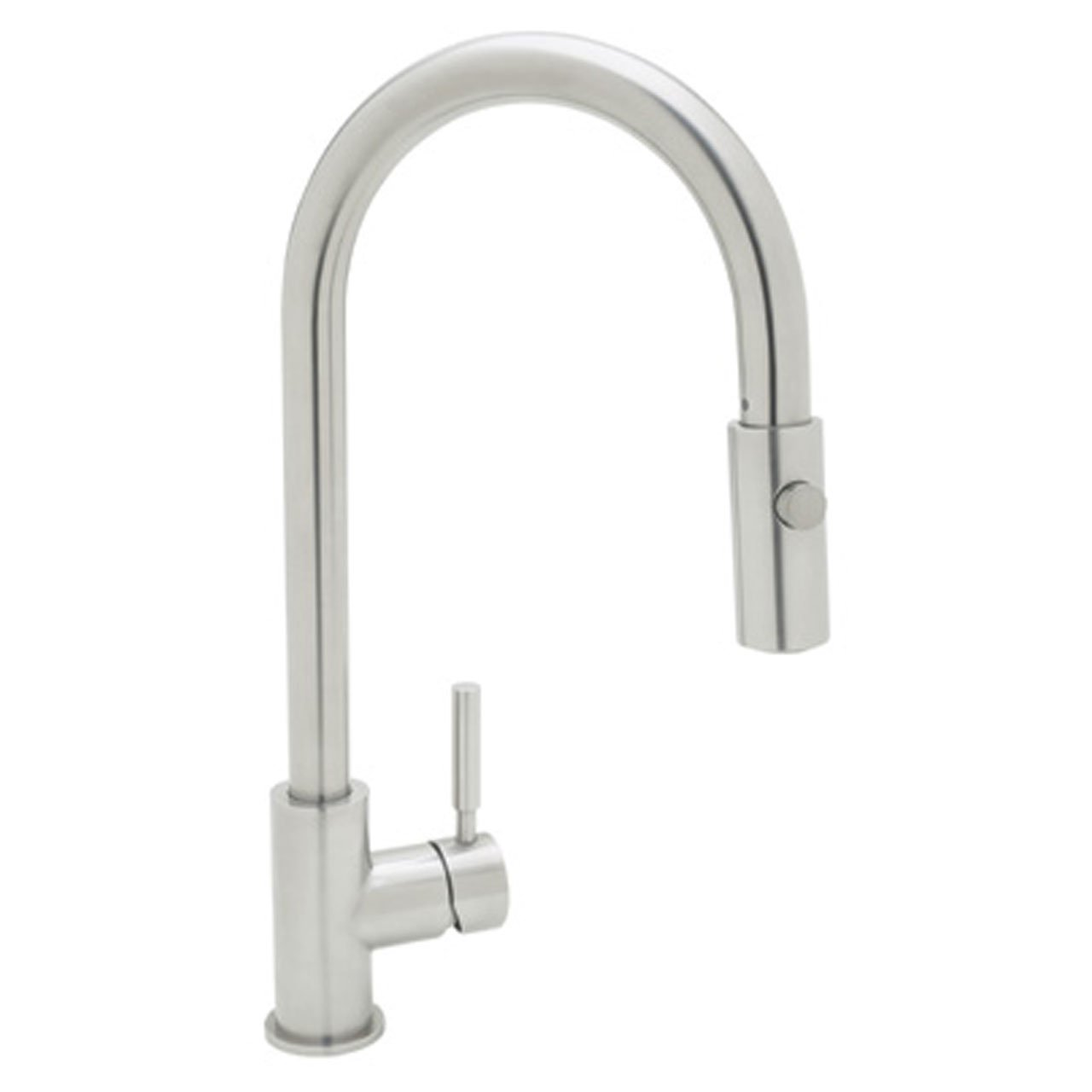 Rohl R7520SS Lux Single-Lever Handle Pull-Down Kitchen Faucet 0-in L x 2.2-in W x 16.6-in H Stainless Steel