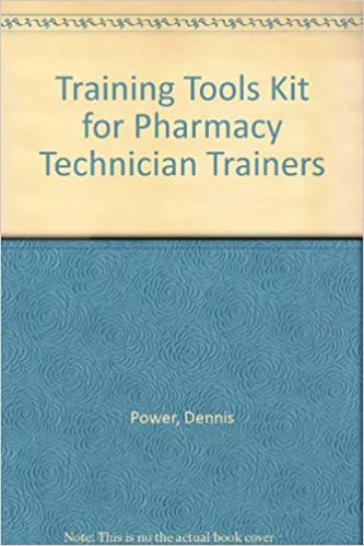 Download Training Tools Kit for Pharmacy Technician Trainers PDF, azw (Kindle)