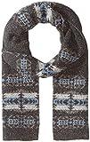 Pendleton Men's Knit Muffler Scarf, Hawkeye grey, One Size