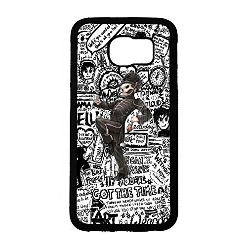 Samsung Galaxy S6 Band MCR Cover Shell Hybrid Funny Soldiers Alternative/Indie Rock Band My Chemical Romance Phone Case Cover for Samsung Galaxy S6