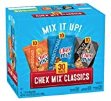 Chex Mix Classics - Cheddar - Traditional - Bold - 30 Bags (Pack of 4)