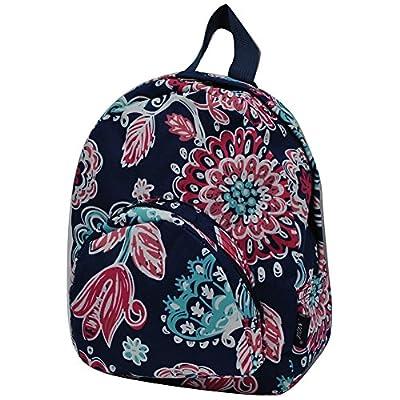 chic Medieval Blossom NGIL Canvas Mini Backpack