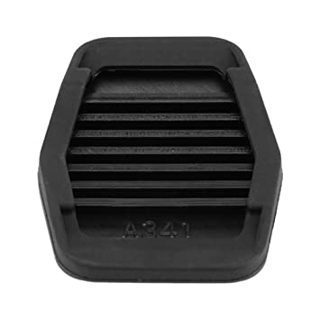 Lorsoul Pedal de Freno de Embrague de la Cubierta del Caucho Negro Antideslizante Almohadilla de Repuesto para Ford Focus MK2 1234292: Amazon. es: Hogar
