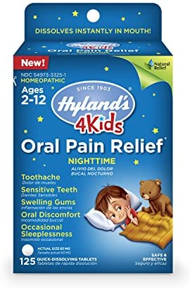 Hylands Nighttime Toothache Swelling Discomfort