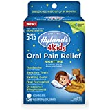 Hyland's 4 Kids Nighttime Oral Pain Relief Tablets, Natural Relief of Toothache, Swelling Gums, and Oral Discomfort, 125 Count