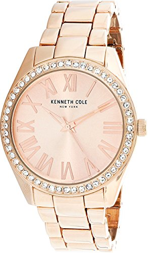 Kenneth Cole Women's KCC0184003 Rose-Gold Stainless-Steel Quartz Fashion Watch