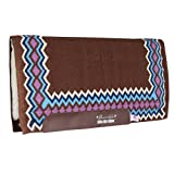 Professionals Choice 34X36 Equine Smx Air-Ride Shilloh Saddle Pad (Chocolate Brown/Mauve)