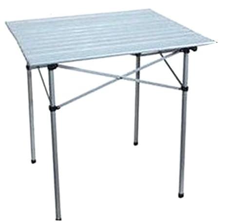 Tavoli Pieghevoli Da Esterno.Tavoli Pieghevoli Interamente In Alluminio Leggero E Sedie Tavolo