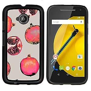 Stuss Case / Funda Carcasa protectora - Fruit Rouge Peinture - Motorola Moto E2 E2nd Gen
