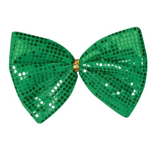 Beistle 30769 Jumbo St. Patrick Glitz 'N Gleam Bow Tie, 8-1/2-Inch by 11-1/2-Inch