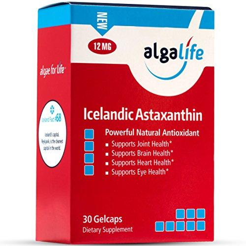 ALGALIFE Astaxanthin Icelandic 12mg, 30 Count