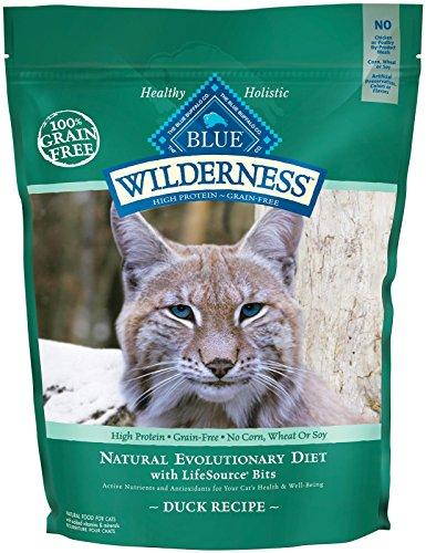 Blue Buffalo Wilderness Grain Free Dry Cat Food, Duck Recipe