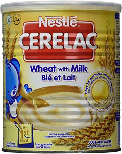 Nestle Cerelac trigo 400 gr (Inglaterra)