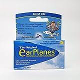 Original EarPlanes by Cirrus Healthcare Earplug for Airplane Travel Ear Protection (1 Pair)