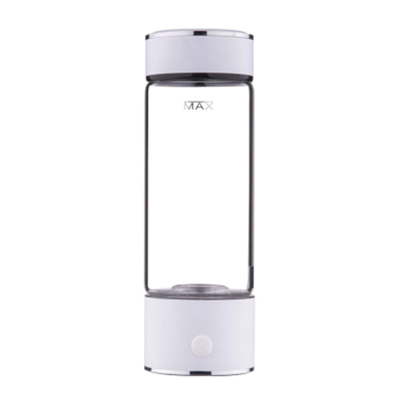 【数量限定】 ポータブル3分水素リッチウォーターボトル高濃度水素ジェネレーターガラスウォーターカップアンチエイジングアルカリウォータージェネレーター420ml B07H2C5P55 B07H2C5P55, 久井町:b7259b93 --- a0267596.xsph.ru