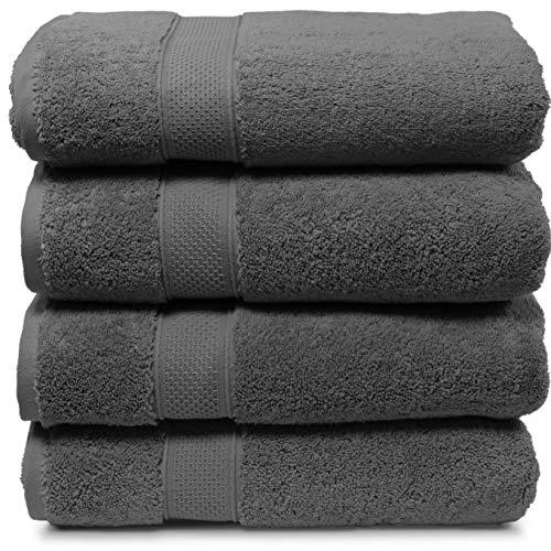 Maura 4 Piece Bath Towel Set. Extra Large