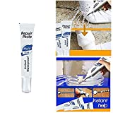 Instant Waterproof Repair Paste,Multi-Purpose Quick Repair Cream Water-Based Sealant Effectively Seals&Repair Broken Surfaces,Used to All Construction Materials and a Large Variety of Surfaces