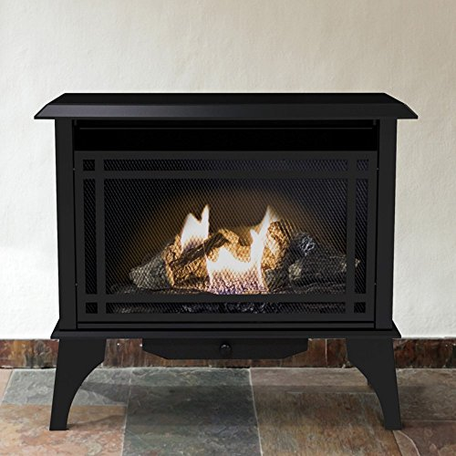 Great Features Of Pleasant Hearth VFS-PH30DT 32 in. Intermediate Vent-Free Gas Stove