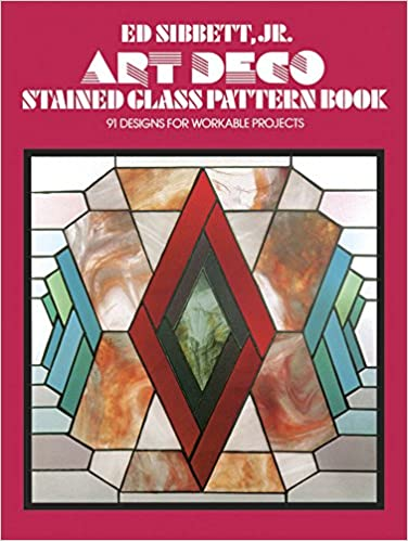 Art Deco Stained Glass Pattern Book Dover Stained Glass Instruction Impressive Stain Glass Patterns