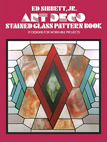 (Art Deco Stained Glass Pattern Book (Dover Stained Glass Instruction))