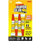 Super Glue Corp/pacer Tech SGH24J, 4 Pack (4-0.07oz/2g, total 0.28oz/8g)
