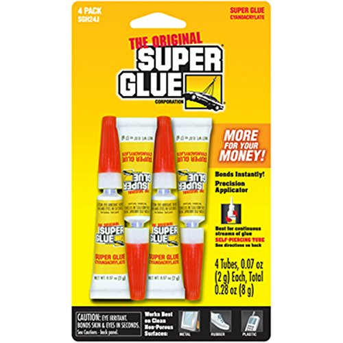 Strongest Super Glue >> Super Glue Corp Pacer Tech Sgh24j 4 Pack 4 0 07oz 2g Total 0 28oz 8g