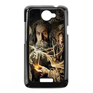 HTC One X Cell Phone Case Black Desolation Of Smaug Hobbit Film Face LSO7856878